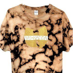 Wu Tang Black Panther Marvel 1 of 1 T-Shirt